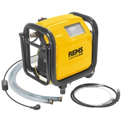 Электронное устройство для промывки и проверки под давлением с компрессором REMS Мульти-Пуш